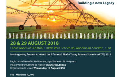 2018 Annual AFASA Young Farmers Summit registration is now open