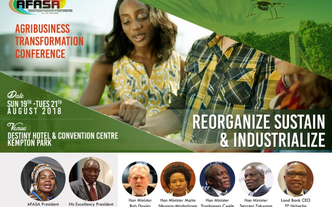 2018 AFASA Agribusiness Transformation Conference